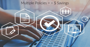 Image representing multiple policies and greater savings
