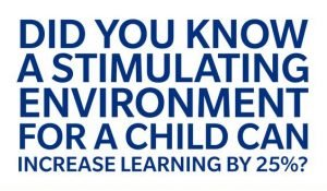 image used for increasing child'slearning nby stimulating environment