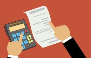 budget planning starts with a calculator