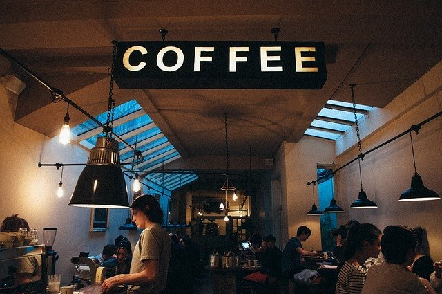 picture of inside of coffee shop