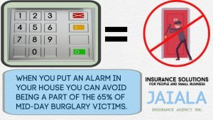 picture of your alarm for a safer home
