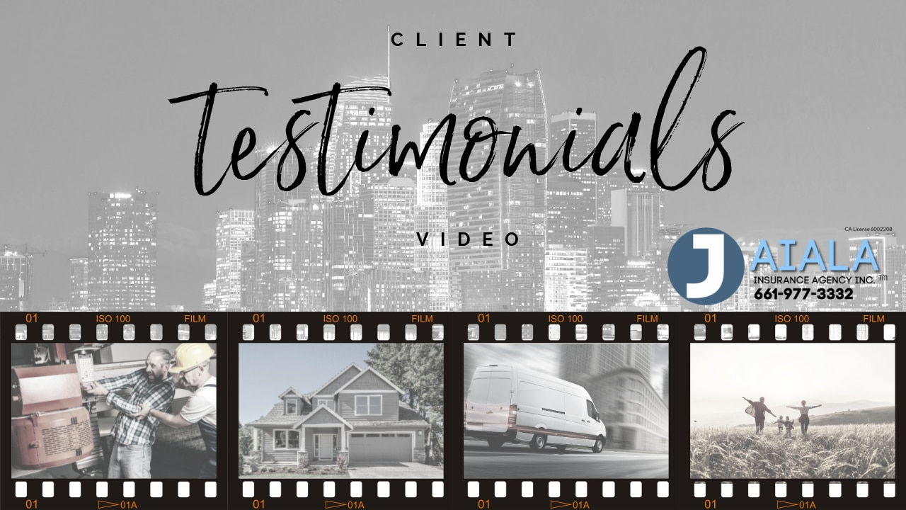 Client Video Testimonial image for site and youtube