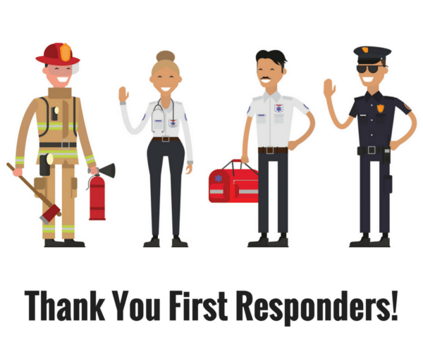 illustrated first responders